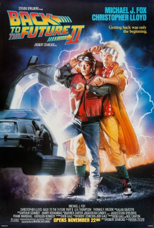 lesson plan making predictions with back to the future ii efl tower